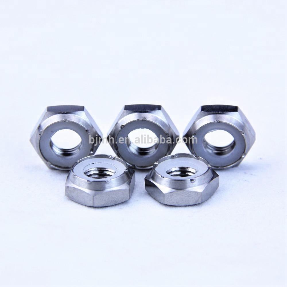 Titanium Flange Nut  M8x1.25