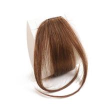 VSR волос взрыва клип в наращивание волос Одна деталь челка спереди человеческих волос челки Черный парик челки человеческие волосы на закол...(Китай)