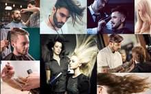 Beibehang пользовательские обои 3D Европа и США расписанные вручную тренд парикмахерской ТВ фон стены Парикмахерская фрески(Китай)