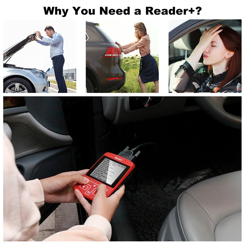 OBD2 Scanner Reader Code OBD2 Diagnostic Tool Can BUS&ENGINE Coder Car Accessories
