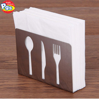 home use tissue storage stainless steel napkin holder