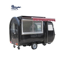 New Fast Food Outdoor Mobile Caravan Trailer Trailer Fast Food