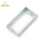 Hot Selling BS4662 Standard Industries Silver Square Small Metal Box