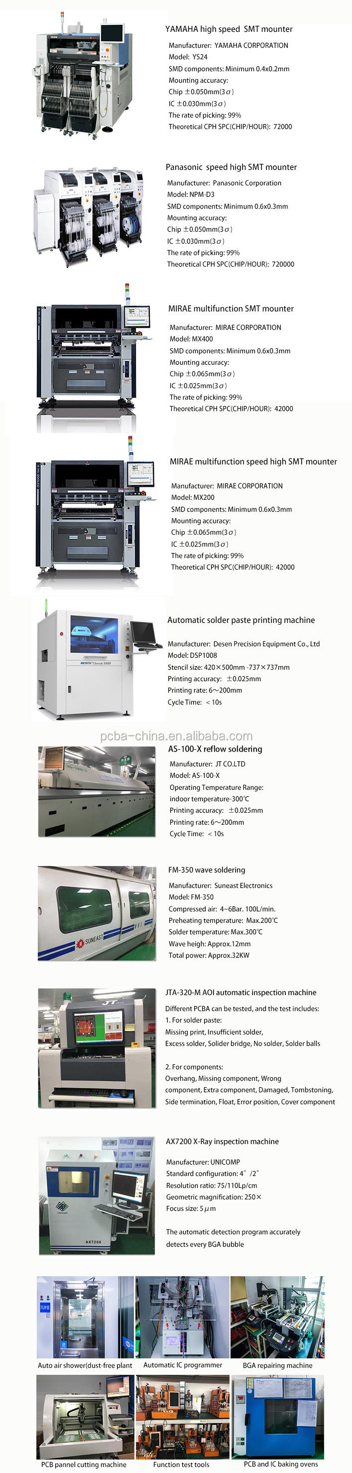 사용자 정의 전자 FR-4 PCBA 94v0 인쇄 회로 보드 PCB 제조