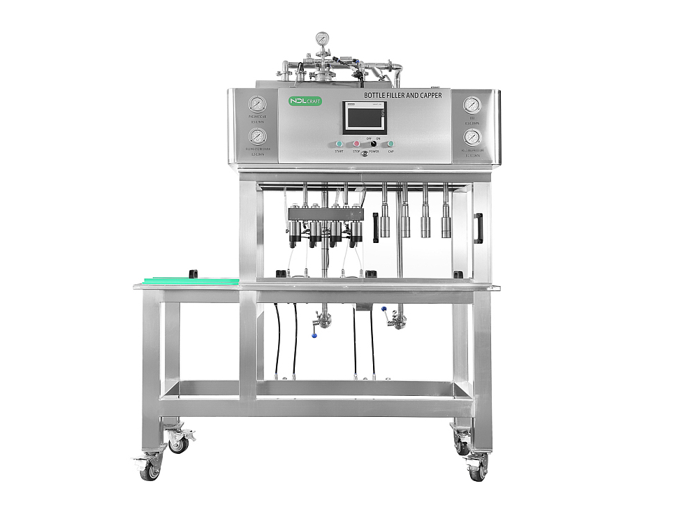 4 6 8 10 heads semi-automatic bottling equipment bottle filling capping machine