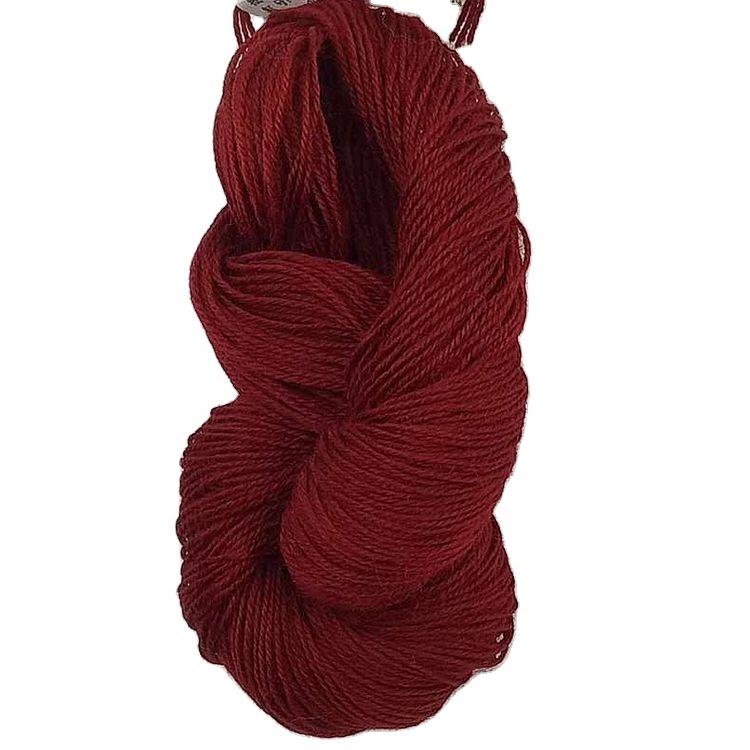 Dyed beautiful color Carpets rugs yarn New Zealand British Australia wool hand knitting