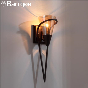 Nordic E27 Decorative Iron Metal Modern Wall Sconce For Hotel Home Restaurant Bar