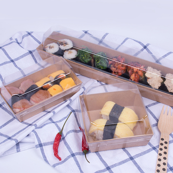 manufacturer boat tray take out salmon sushi box