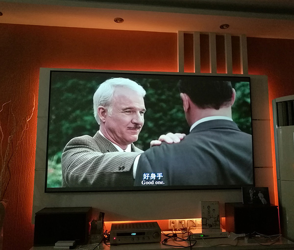 Future Screens 120 Inch Aspect Ratio 16;9 High Contrast ALR Black Crystal Projection Screen for 4K projector