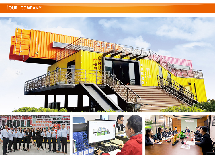 container hotel for sale