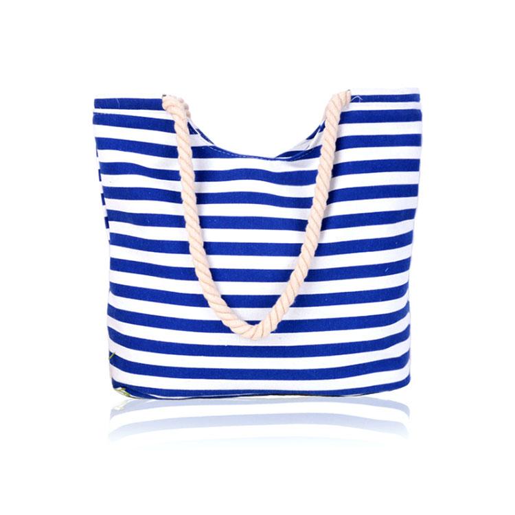 Di alta qualità a buon mercato cusmozied logo stampato 8os 12oz 16oz cancvas cotone tote shopping bag con manici in corda