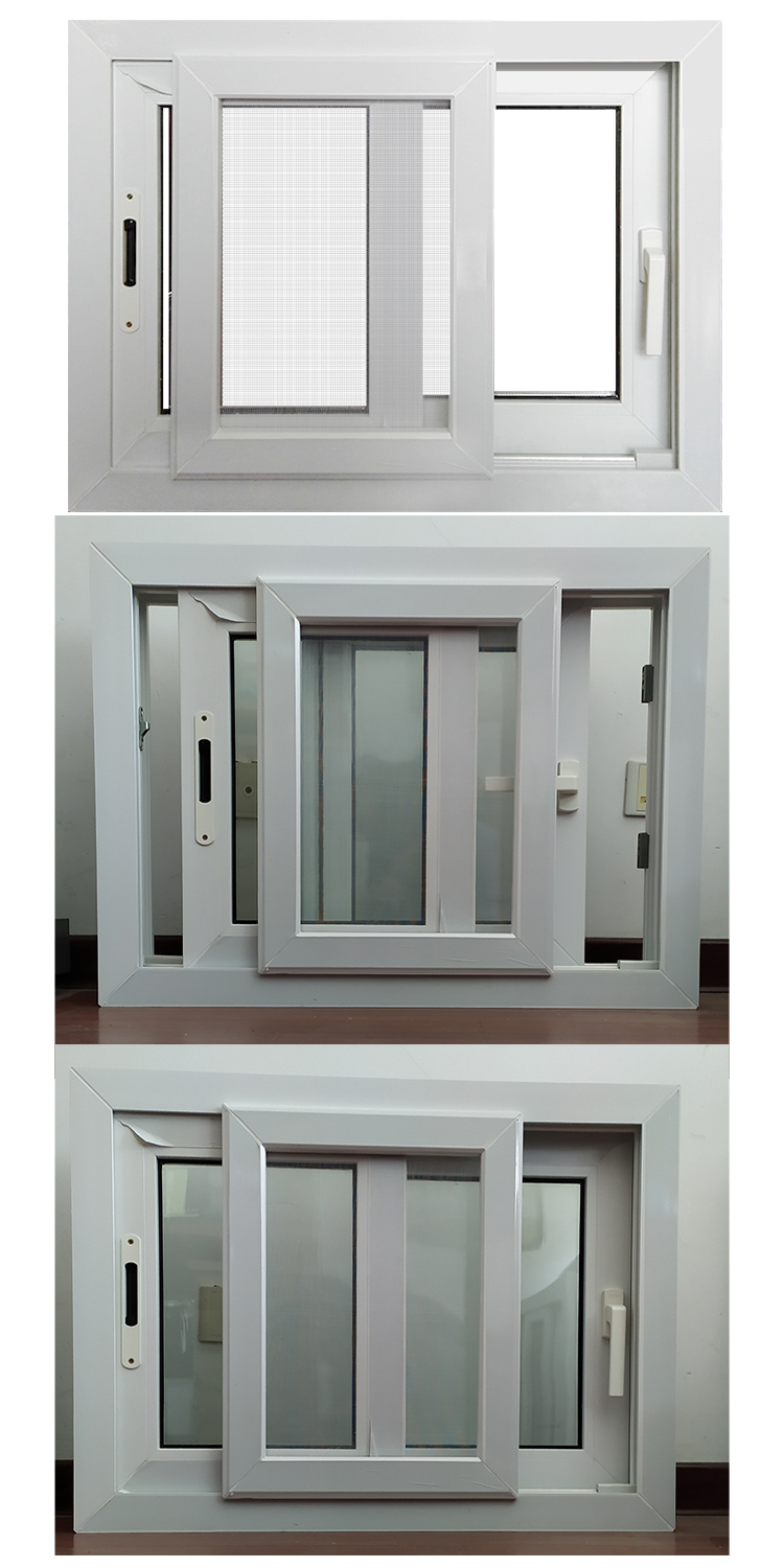 PSW80 upvc windows and doors manufacturer supplier window factory