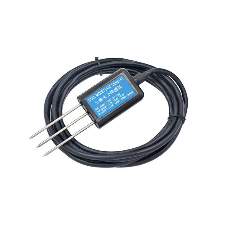 RS485 0-5V 0-10V saída de Alta precisão o teor de umidade e temperatura Do Solo sensor de umidade de terra sensor de