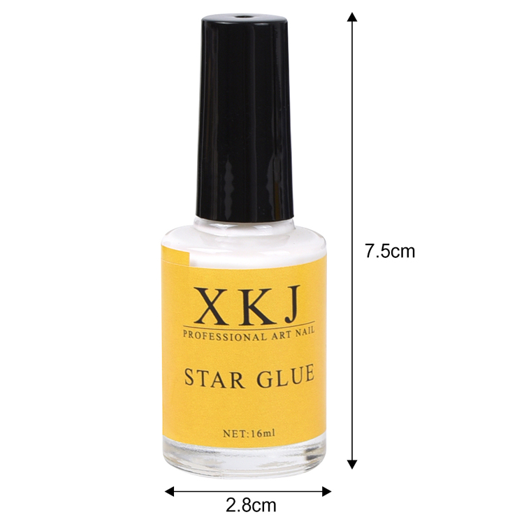 Hot sale 16ml nail art foil transfer UV LED nail foil glue nail foil gel