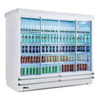 Display fridge refrigerator commercial supermarket refrigerator cabinet freezer