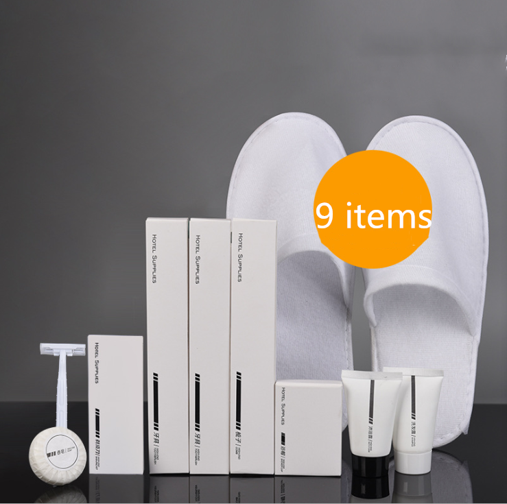 Free sample hotel room guest amenities