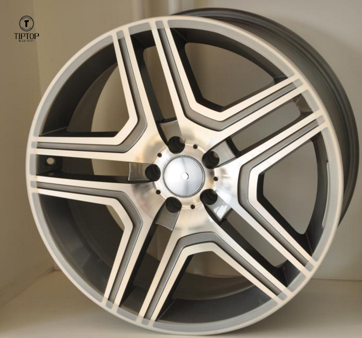 Aluminium alloy wheel high quality wheels 19*8.5 22*10 popular designs for Europe market fit for Benz wheels