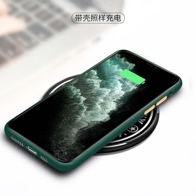 For iPhone 12 11 Pro Case Ultra Thin TPU PC Phone Case For iPhone X/XS MAX XR 8 7 6/6s Plus Translucent Matte Mobile Back Cover
