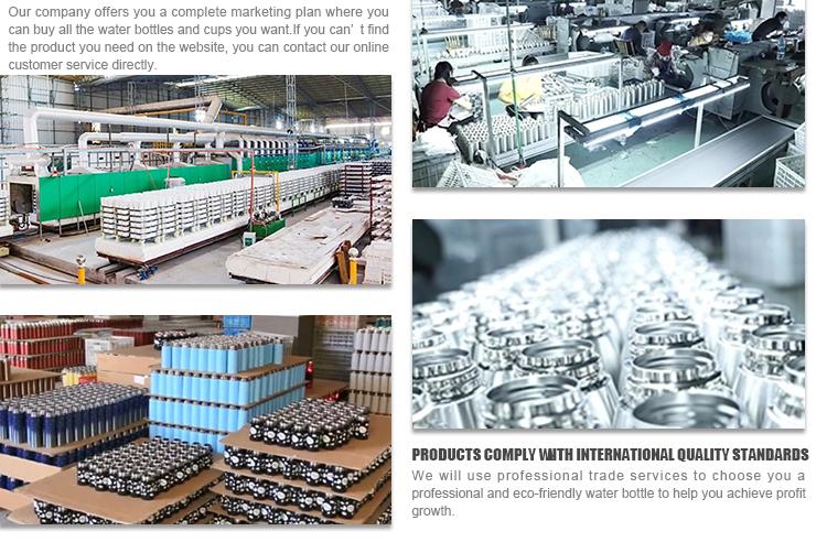 Angepasst Private Label Doppel Wand Edelstahl Hydro Vakuum Isolierte Glaskolben Breiten Mund Sport Wasser Flasche