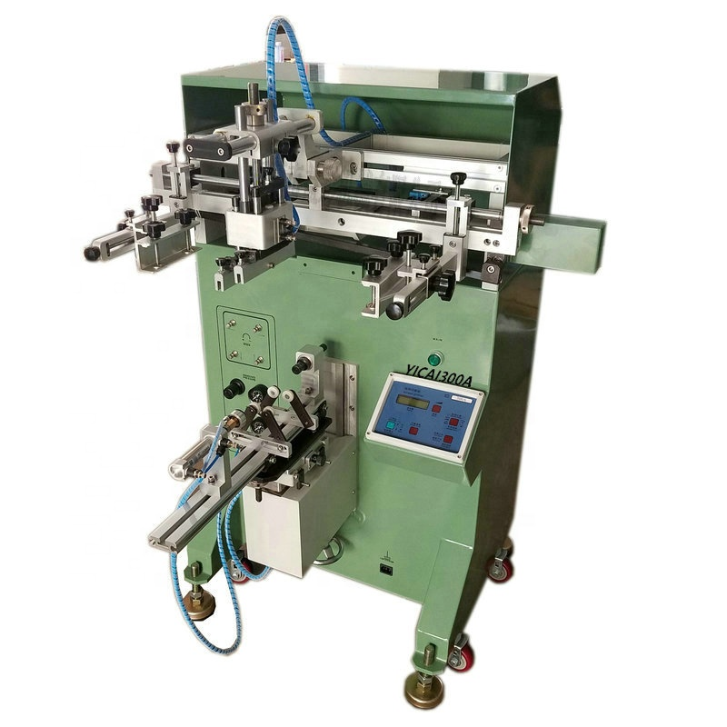 Syringe screen printing machine injector printer