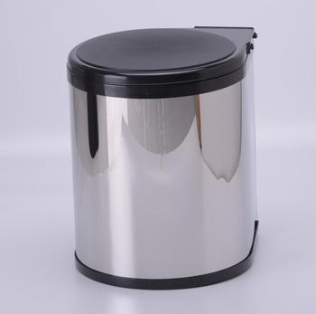 customer size in cabinet Garbage bin