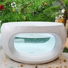 Round baby spa equipment bubbling spa tub swimming whirlpool bath pool