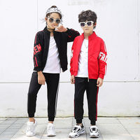 New design wholesale fall winter outdoor casual children girl's boys coats clothing sets boy clothes
