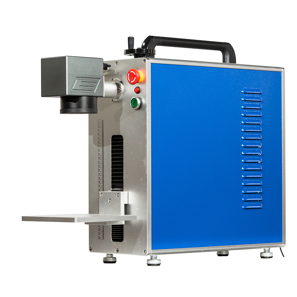 Hot Sale Cheap 20W Portable Small Metal Gold Jewelry Fiber Laser Marking Engraving Machine for Sale
