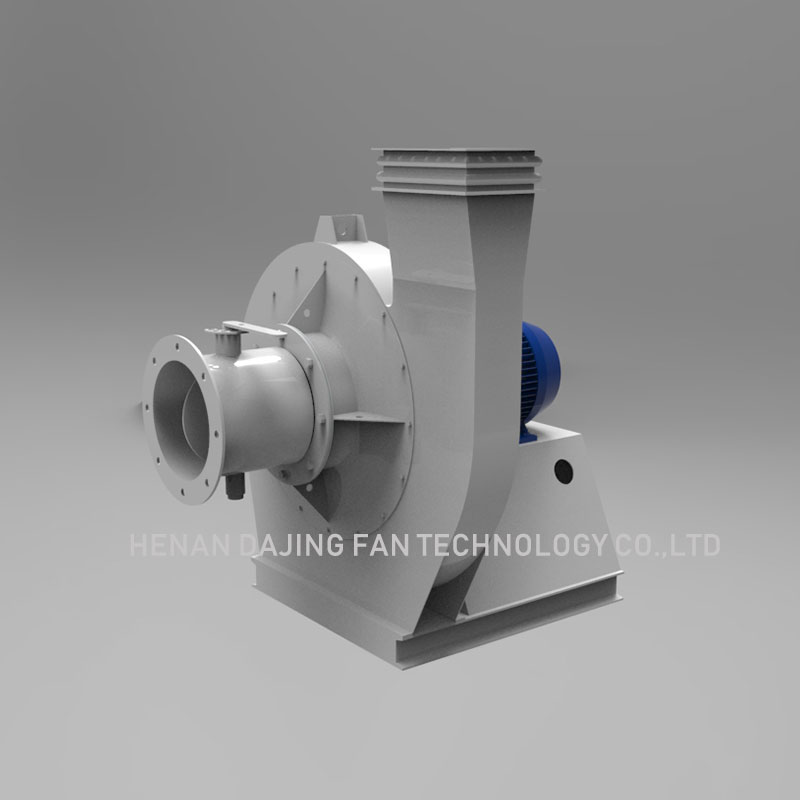 Industrial Sawdust Blower Direct Drive Direction Carbon Steel Radial Blowers Centrifugal Induced Draft Fan 3kw