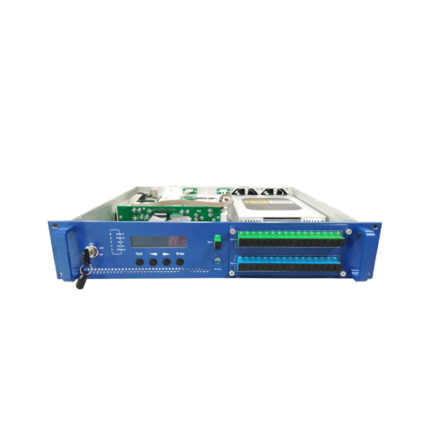 Stock high power 2U 16 <strong>ports</strong> WDM EDFA 1550