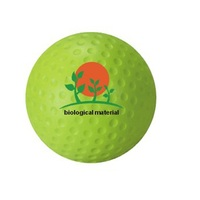 Factory direct wholesale eco friendly PU foam stress golf ball