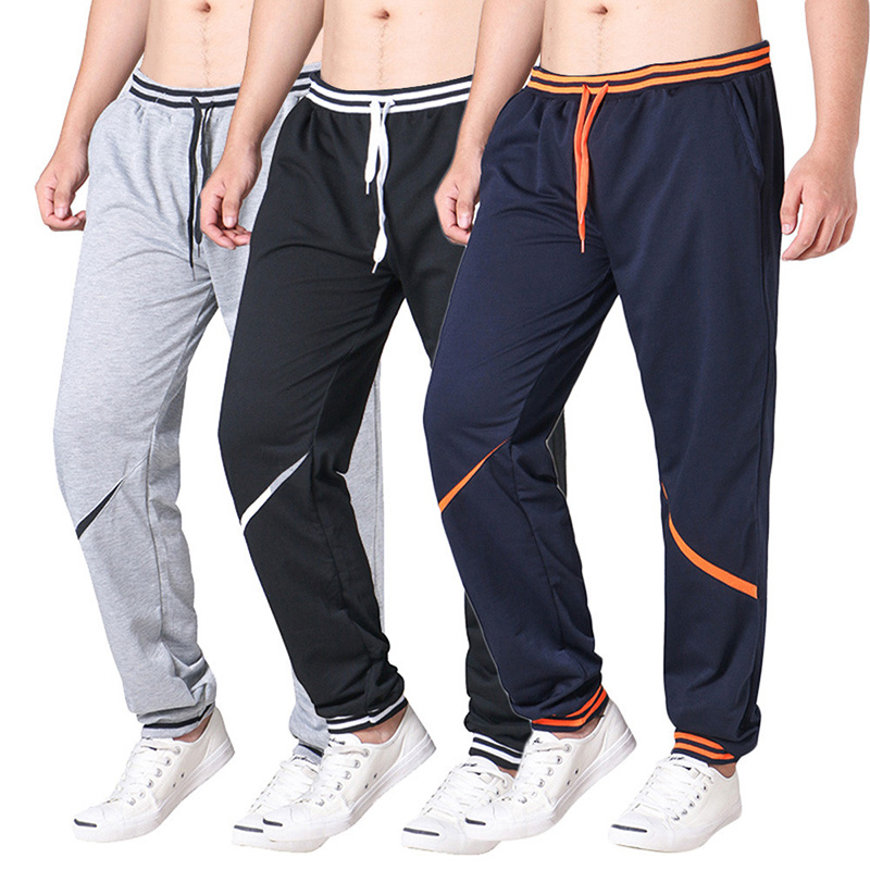 Wholesale Men Workout Sweatsuit Blank Gym Jogger Pants