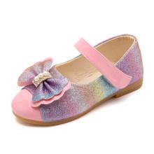 JACKSHIBO/Новинка 2020 года; Сезон весна; Детская обувь принцессы для девочек с блестками; Детская обувь для свадебной вечеринки; Школьные сандали...(Китай)