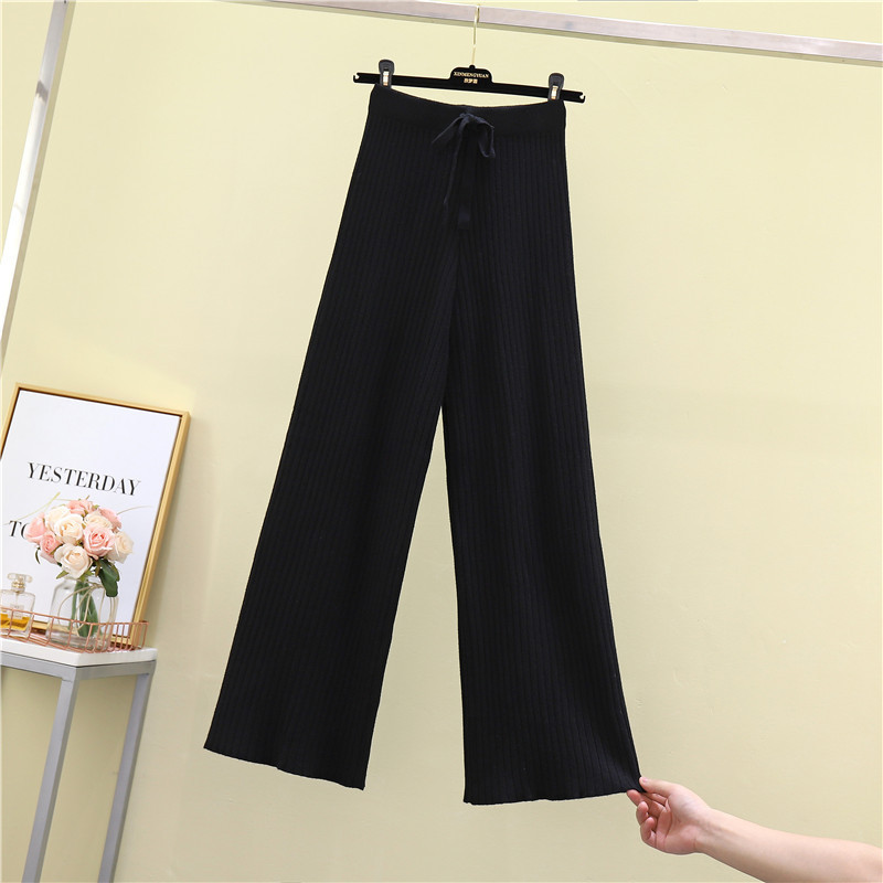 Multifunctional outfits one pieces wide leg pants women ladies trousers