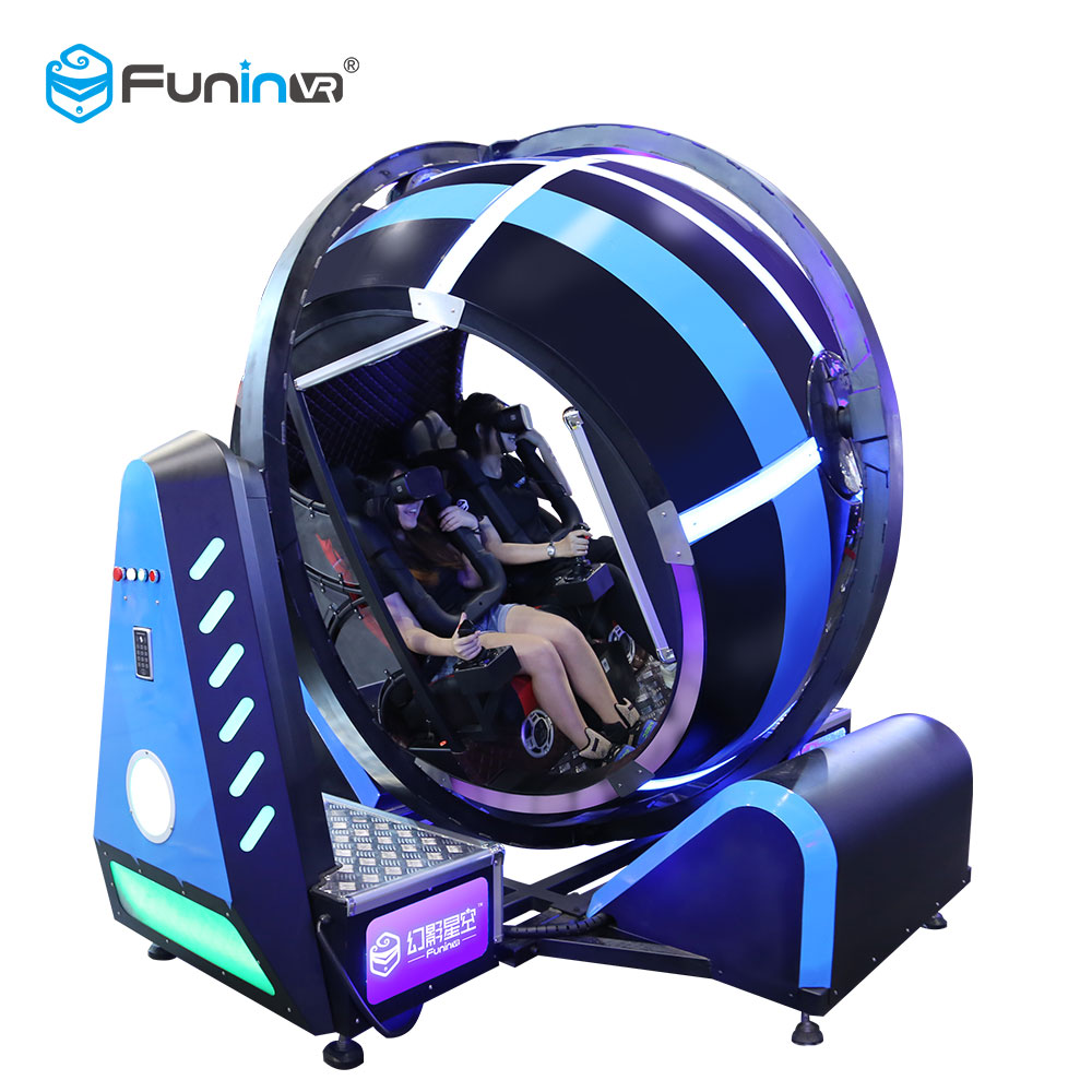FuninVR Hot Sales VR Products Earn Money 9D Vr Game 720 Degre Virtual Reality Flight Simulator For Sale
