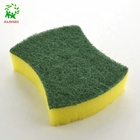 The newest manufacture magic melamine cleaning eraser sponge foamy