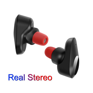 Portable Noise Cancelling True Wireless Stereo Touch Bluetooth TWS  Earbuds Earphone with Charge Case