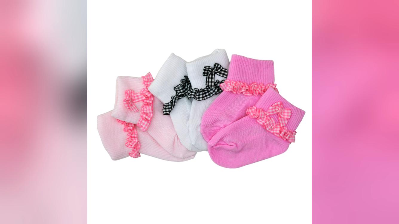 Cotton Baby Girl Socks Lace Wholesale Baby Socks Set Lovely Soft Baby Socks