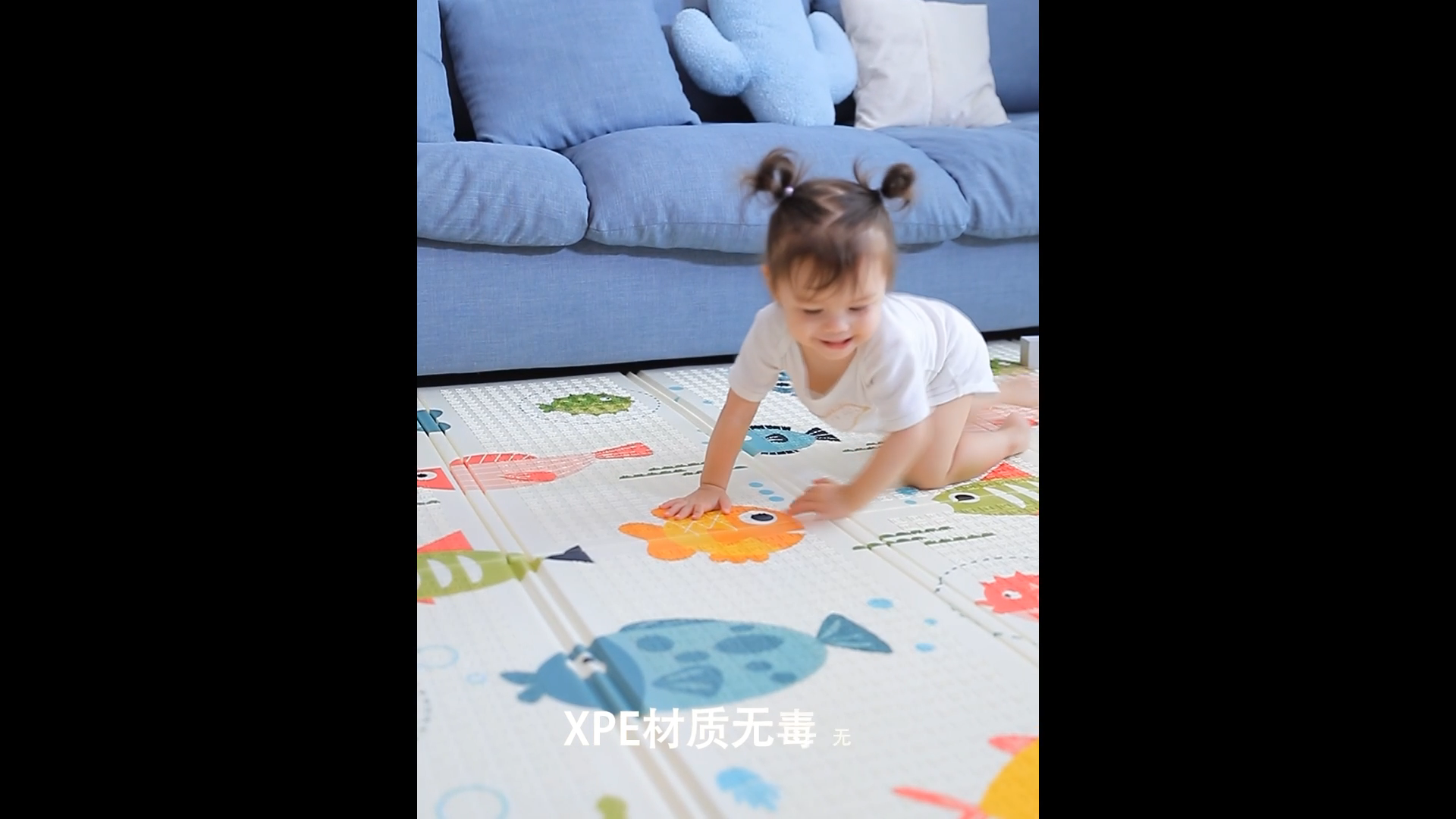 2020 kaliteli XPE malzeme yumuşak zemin köpük yumuşak çocuk katlanabilir çocuklar bebek oyun matı bebek için