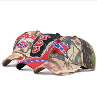 Texas Baseball Caps REBEL Pride Outdoor Letters Embroidery USa Camouflage Sun Hat