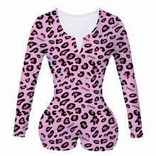 Женское нижнее белье, сексуальное боди, короткий комбинезон, пижама с животным принтом, сексуальное нижнее белье для взрослых(Китай)