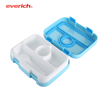 bento lunch box with compartment container food-grade Plastic PP quality for kids eco-friendly