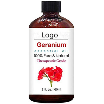 Private Label Premium Reduce Wrinkles Geranium Essential Oil