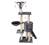 High quality cat tree condo tower toy and cat scratch post