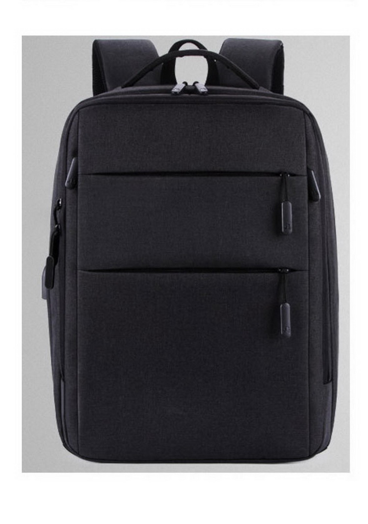 Business Man USB Backpack Multi- function Laptop Backpack
