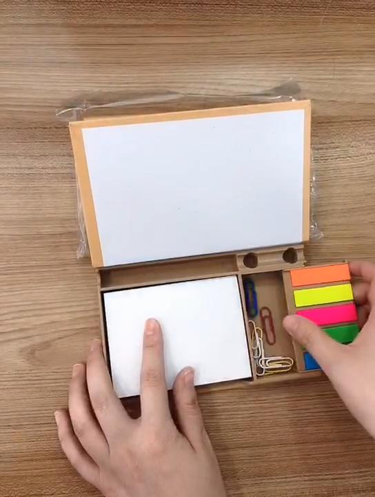 Venta caliente diseño de moda colorido personalizado memo pad conjunto de nota adhesiva