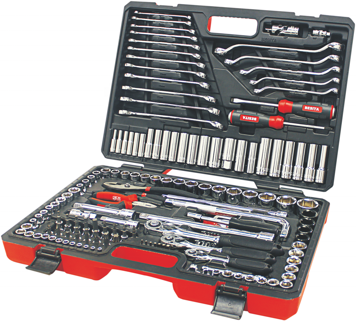 BESITA German design 150pcs high quality hand tool set auto <strong>repair</strong> tool <strong>kit</strong>