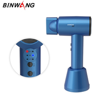 Rechargeable Portable Cordless Hair Dryer 300W Lithium Battery Charging Wireless Dryer Blue