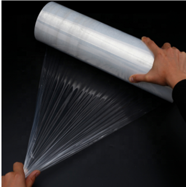 Stretch Film Pallet Wrap Clear LLDPE Voedsel Wrap of Pallet Wrap Strech Film Plastic Wrapping Film