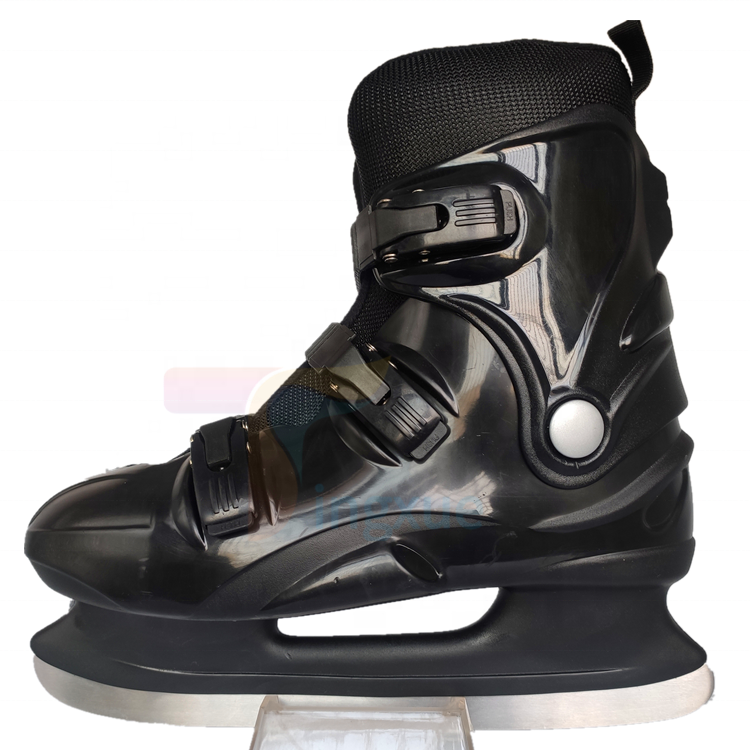 Популярные Оптовые фиксированного размера Прокат обувь для катания на льду для ледового катка хоккей на льду коньки для детей, подростков и взрослых